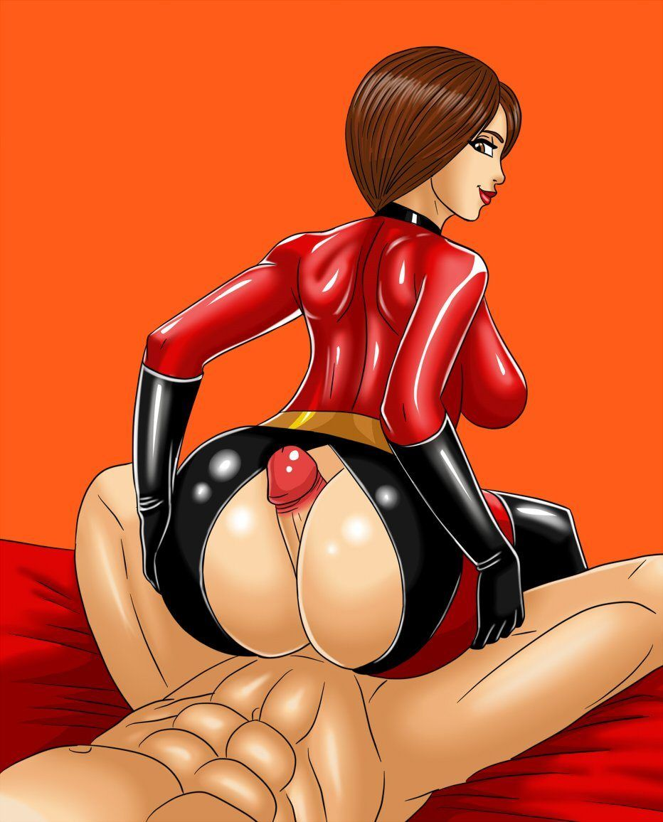 Nackt mrs incredible Orgy Sex: