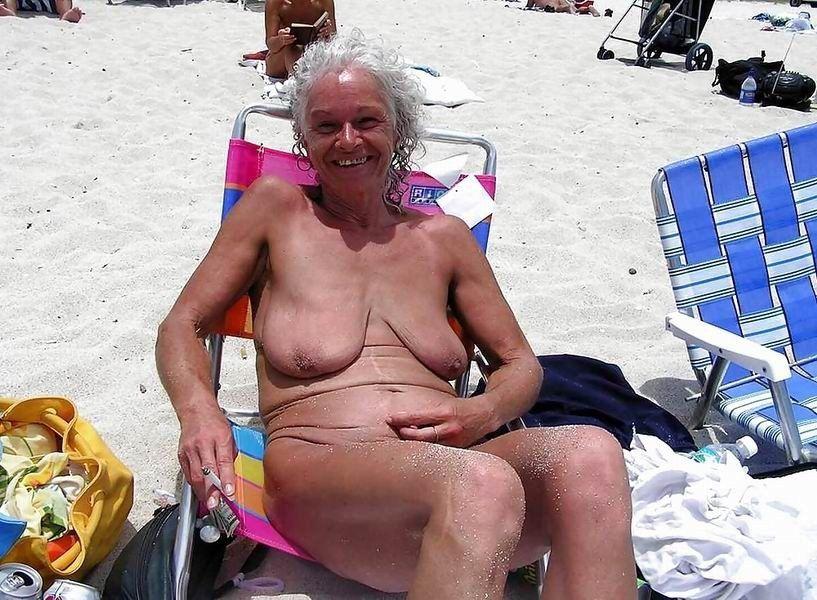 Beach pics granny 50 Very