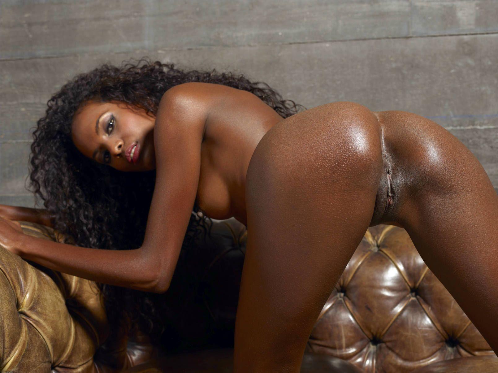 Naked oily black girls
