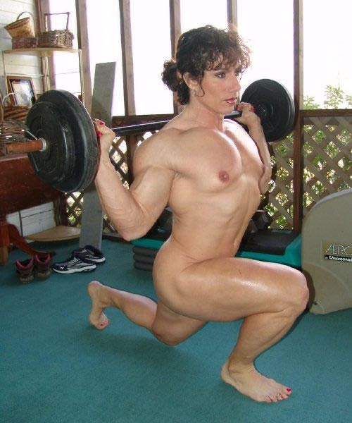 best of Weight lifting nude