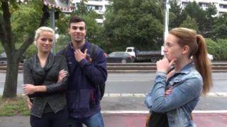 Czech couples public