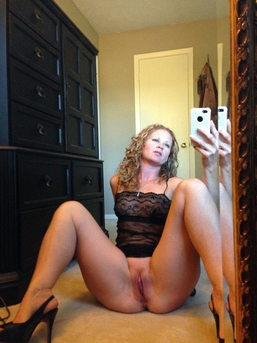 best of Selfie naked Sexy real milf