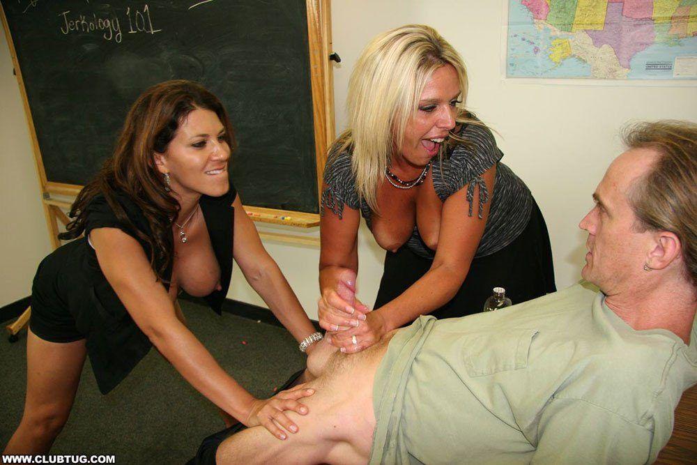 Leena gives handjob