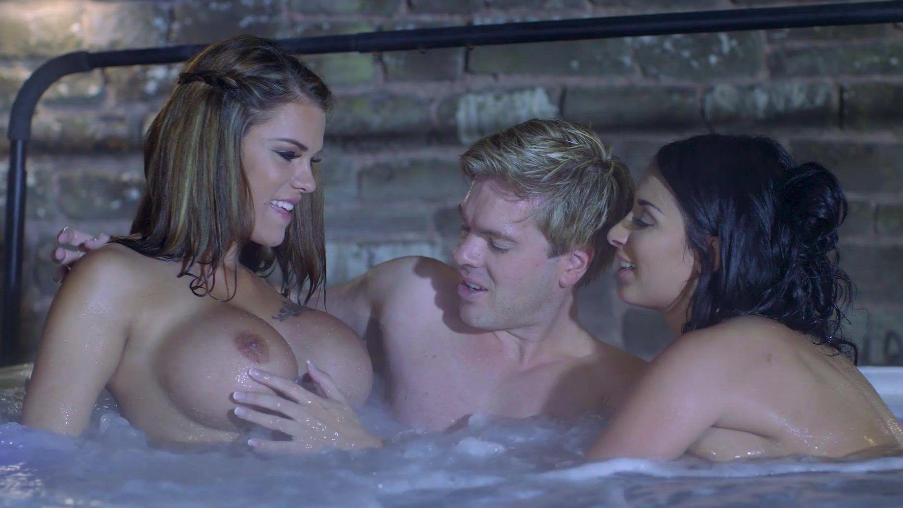 Z reccomend behind the scenes threesome