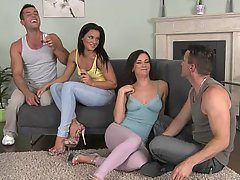 best of Mature foursome Amateurs