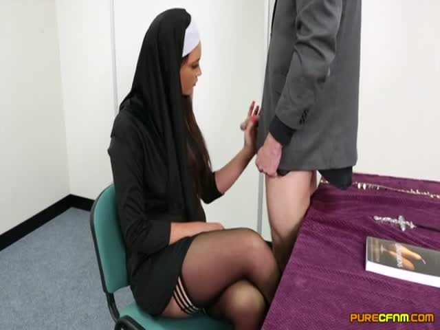Blowjob nun Nun: 282