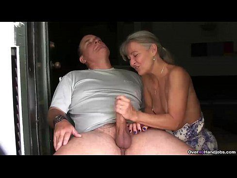 best of Job Old on couch couple Handjob hand