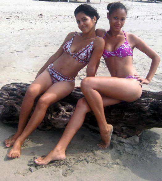 best of Girl bikini lanka photo sri