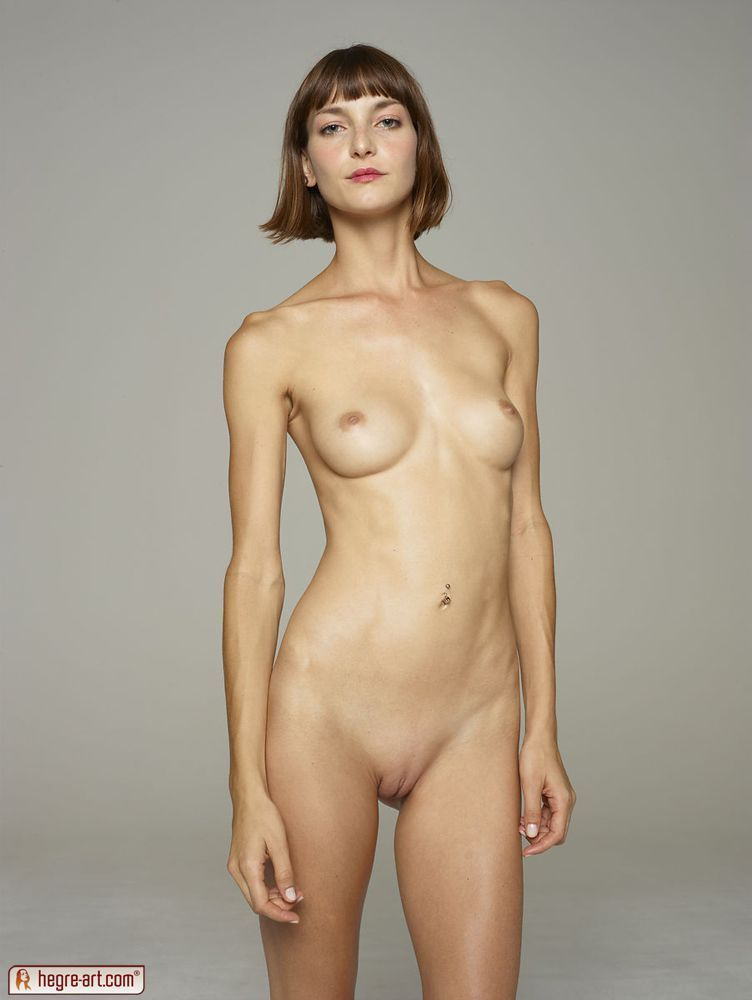 Standing naked