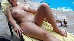 best of Nude Wife swimming